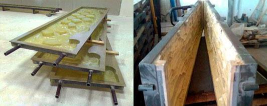 формы для производства бетонных заборов