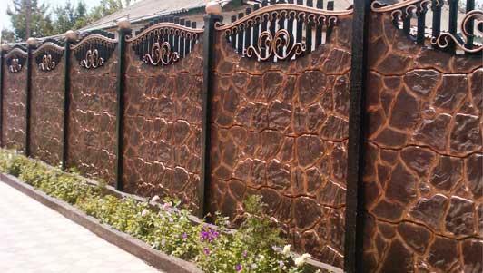 Производство бетонных заборов бизнес