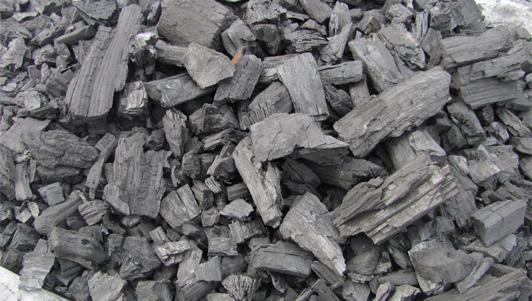 производство угля древесного