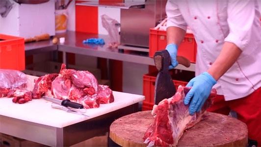 бизнес мясной магазин