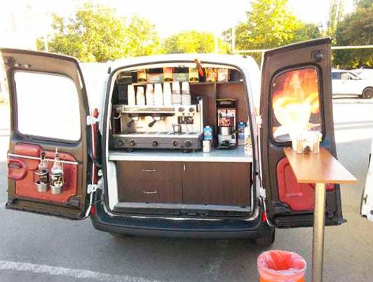 мобильная кофейня бизнес