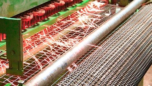 производство сварной сетки