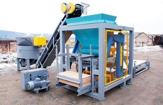 шлакоблоки производство оборудование