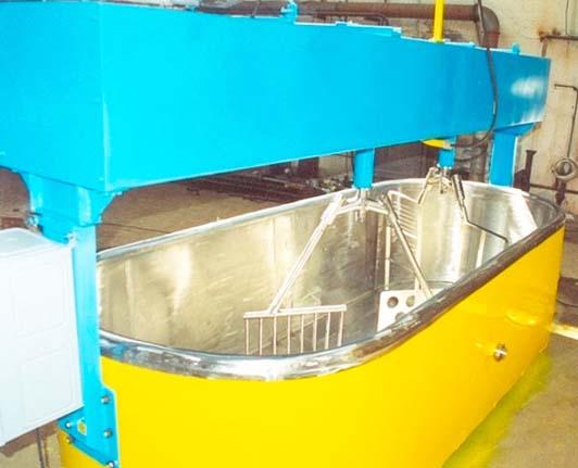 ванна для производства сыра